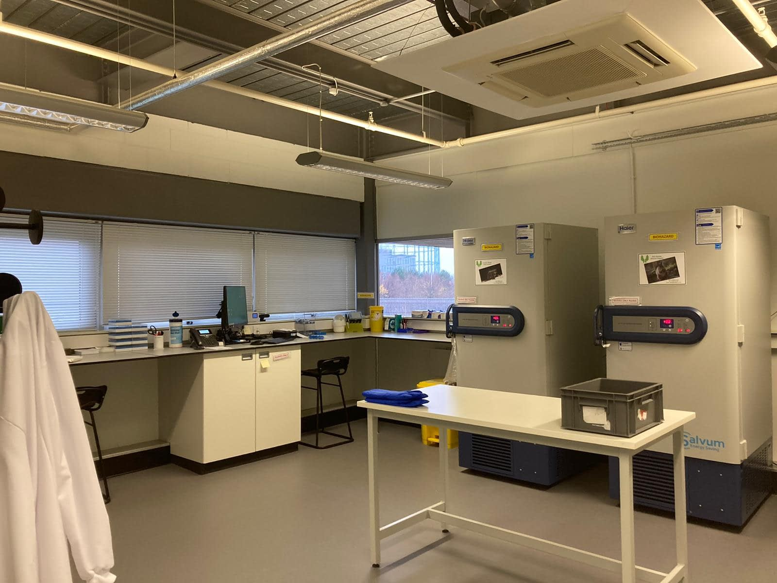 The Royal Zoological Society of Scotland and National Museums Scotland contribute to UK's first zoological biobank